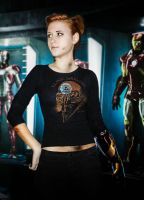 Tony Stark fem version by AlenLav