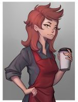 Lydia from Moonlit Brew by sketchrosa