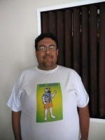 My new WaxBadger T-Shirt by The-WaxBadger
