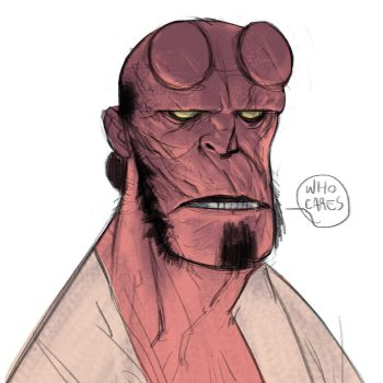 Hellboy by Ramonn90