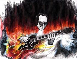 Howard Roberts - Guitar Hero by smjblessing