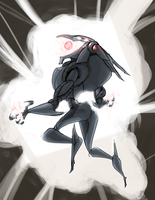 Ultron Redesign (red version) by Wolf-Shadow77