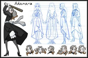 Adamaris Character Sheet by Kaxen6