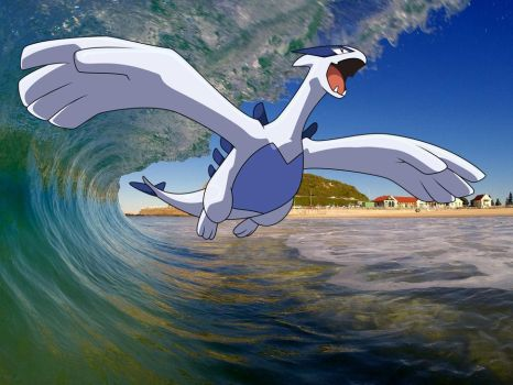 Lugia - Guardian of the Seas by ryanthescooterguy