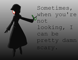 Sometimes... by animalla