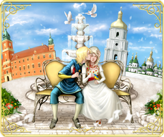 Hetalia FanArt: Polish-Ukrainian Relations by AtreJane
