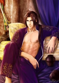 Inebriation-Cao Pi DW by snowhaven