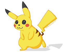 Pikachu for Adam24 by Panthen