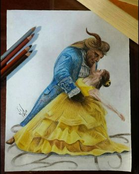 Beauty and the Beast by Yazmin95