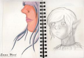 Sketchbook (23) by Idle-Emma