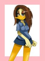 Tina Russo Duck by ss2sonic