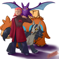 Maxie from Team Magma by Bestary