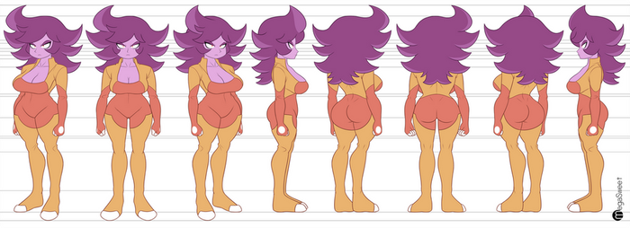 Stella Model Sheet by MegaSweet