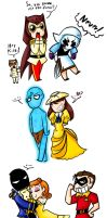 Watchmen and Disney by XxDaimonxX