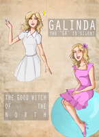 The Good Witch of The North by hahahaida