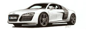 Audi R8 by nessi6688