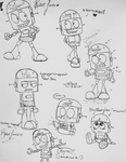 Robot Jones Drawings by coopermania3936