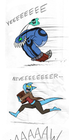 Cookie Chase by Mickeymonster