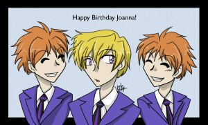 Tamaki and the Twins by liliy