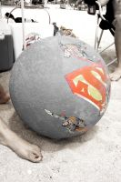 Superman ball by geshorty34