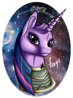 Twilight Sparkle klingon princess by HengeBellika