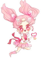 chibi moon by mere-bear