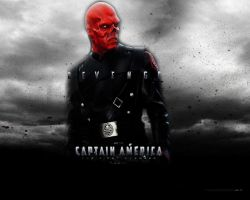 red skull by rorschachcraig