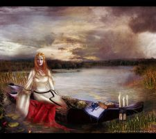 The Lady of Shalott by Eireen