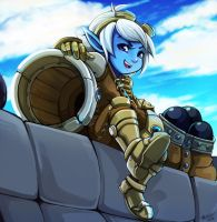 Tristana by RinTheYordle