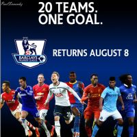 2015-2016 PREMIER LEAGUE PROMOTIONAL POSTER by PF730