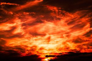 Burning Sky by myst111