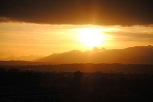 Sunrise in Geneva by clumsilycast-0ff