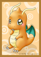 chibi Dragonite by Isi-Daddy