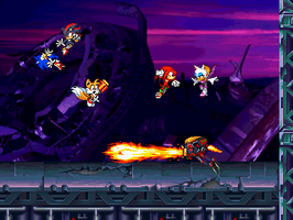 SB 19: Team Sonic vs Team Dark by sonic2344