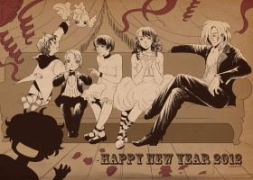 Happy New Year 2012 by sharihes