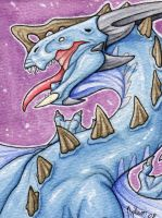Watercolor dragon 03 by mythori