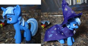 Trixie custom figure by stripeybelly