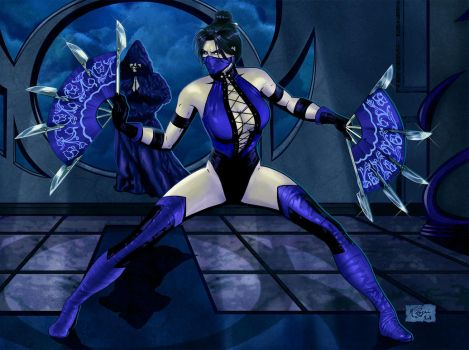 Princess Kitana by KeithByrne