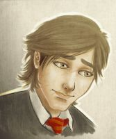 Young Remus by Vimeddiee