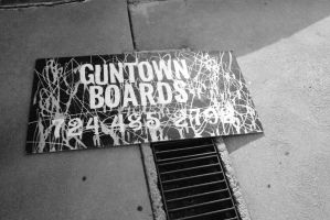 GUNTOWN BOARDS by Thereallovell