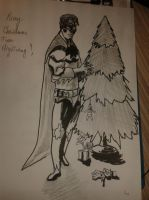 Nightwing joins the fun by Danilov89