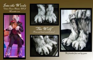 Into the Woods-Wolf Feet by MaskedMenoly