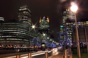 Canary Wharf by kupenska