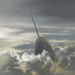 Narwhal In The Sky by Netaro