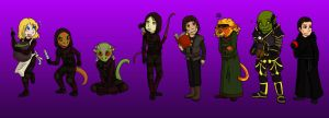 Cheydinhal Sanctuary Lineup by ammy275