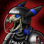 Icon: Undead Umbreon by Keetah-Spacecat