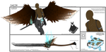 Daezir Ref Sheet [C DuskMind] by MamaELM