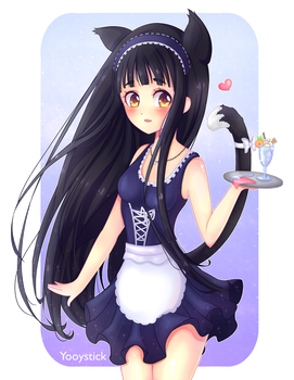 Neko Maid by Yooystick