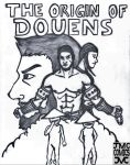 Cover page 'Origin of Douens' by juslarke