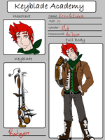 Keyblade Academy Application--Kevin by PoKeLuVr